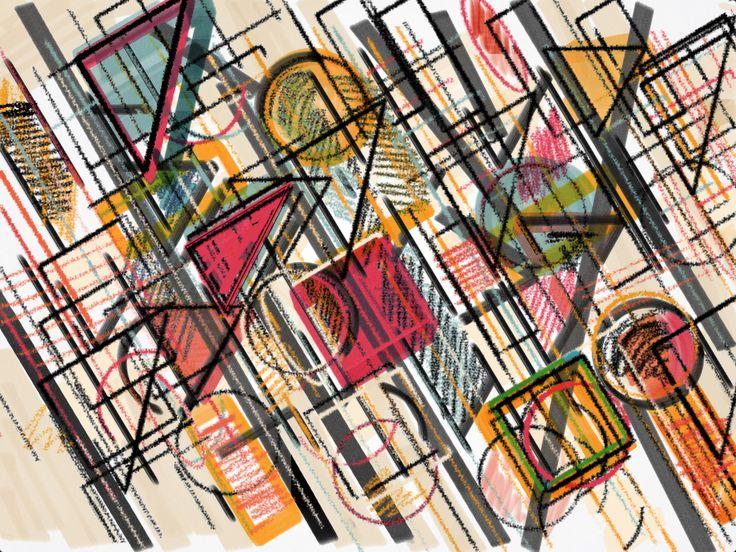 Estampa geométrica  Taci Figueiredo  Surface design