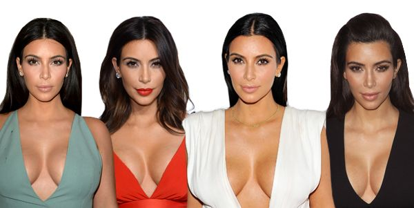 How to Get Kim Kardashian's Gravity-Defying Cleavage - MarieClaire.com