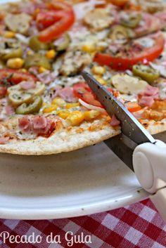 Final de semana, pizza. Pizza, final de semana. É fácil fazer esta associação, pelo menos nesta cabeça gulosa! rsss O difícil é escolh...