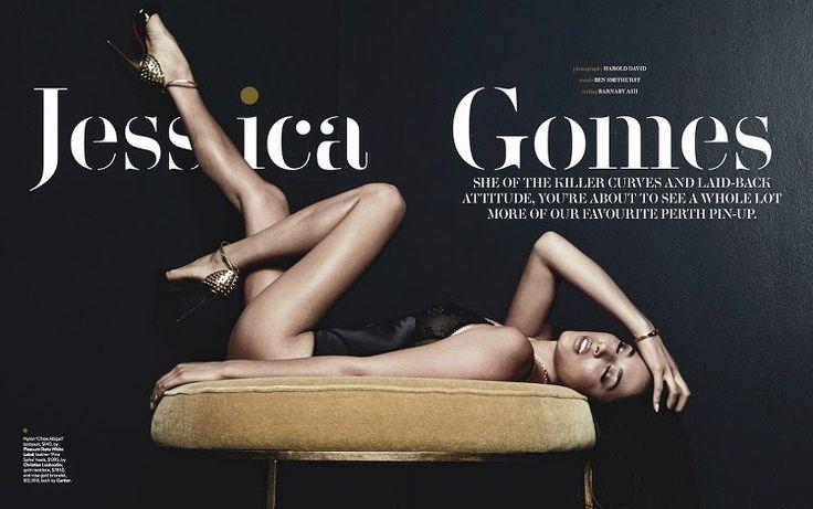 Model @ Jessica Gomes - GQ Australia, March/April 2015