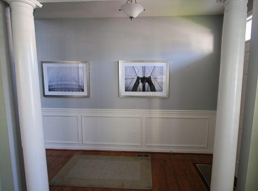 entrance hallway molding diy kitchen pinterest dark