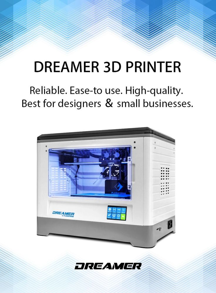 70 best 3d printer images on pinterest printers 3d printer kit flashforge 3d printer dreamer wifi and touchscreen best 3d printers of 2017 best fandeluxe Images