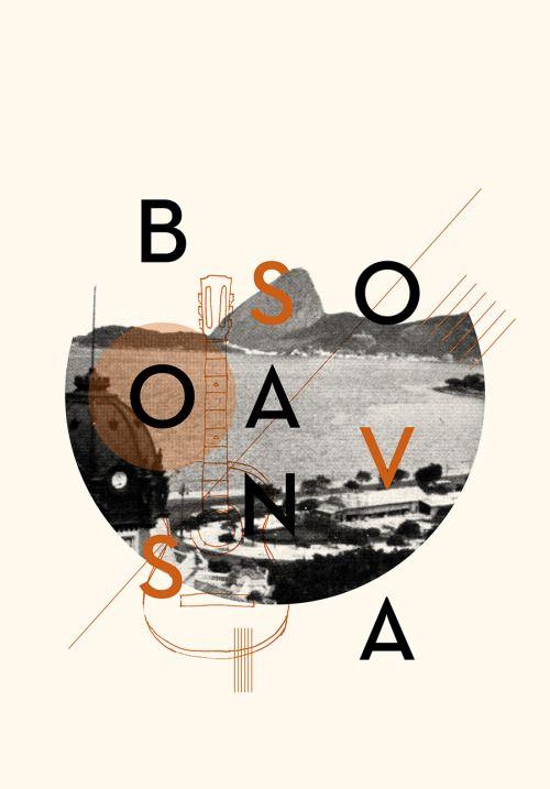 New Artwork - Bossa Nova Available at Society6 Disponível no Colab55 (com entrega para todo Brasil)
