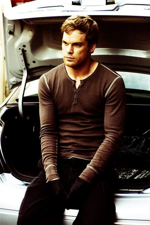 Michael C. Hall. My celebrity obsession. I love him in dexter and six feet under. DROOL.