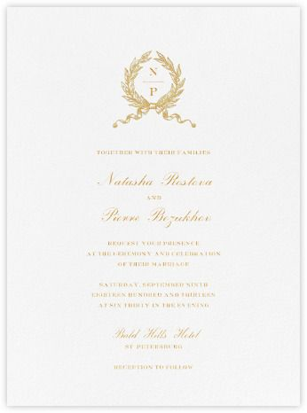 Beautiful, Custom Wedding Invitations From Paperless Post. Available Online  And On Paper.