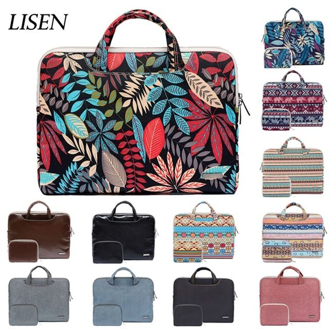 PU Leather Laptop Sleeve Bag Case For MacBook Air Pro 11 13 15 inch Notebook HOT