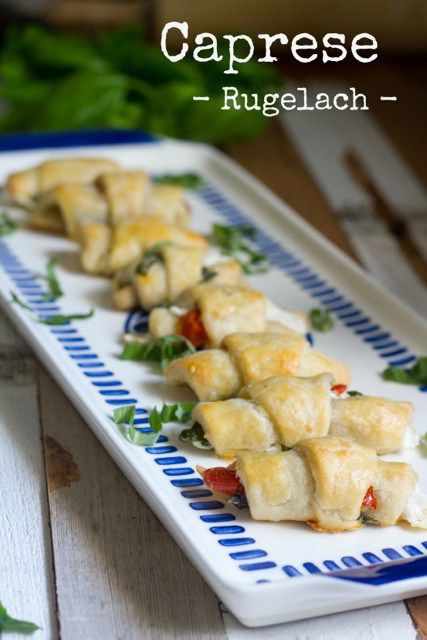 74 best appetizers jewish recipes images on pinterest jewish food caprese rugelach forumfinder