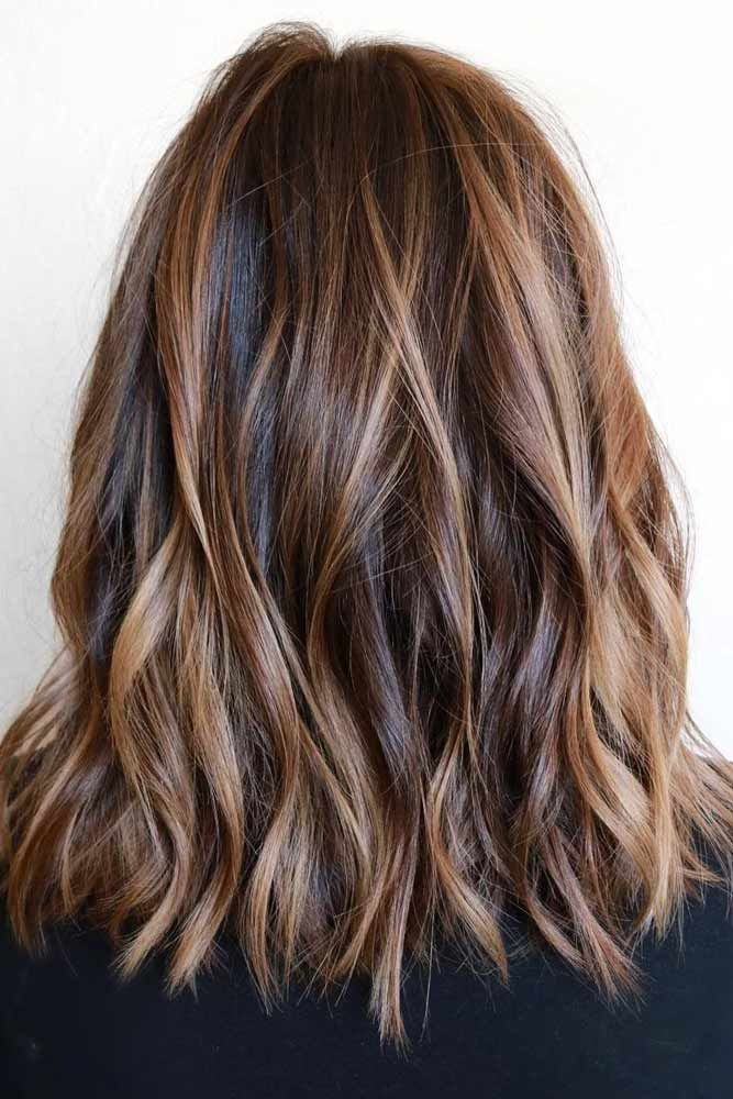 Trendy Hair Highlights    Picture    Description  Great Highlighted Hair for Brunettes ★ See more:    - #Highlights/Lowlights https://glamfashion.net/beauty/hair/color/highlights-lowlights/trendy-hair-highlights-great-highlighted-hair-for-brunettes-%e2%98%85-see-more/