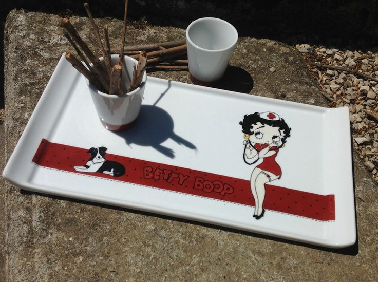 7 best BEtty boom images on Pinterest Betty boop Dishes and