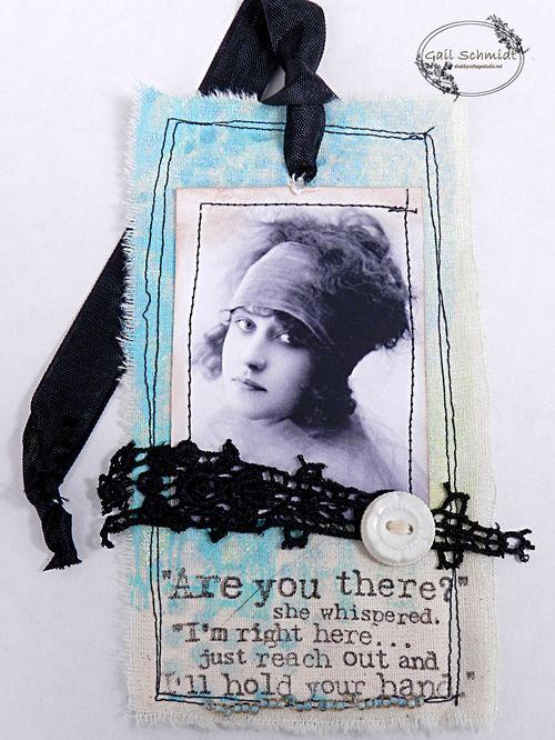 Fabric Tags, Gail Schmidt at Shabby Cottage Studio