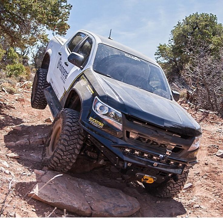 Blue Zr2 Colorado: 102 Best Images About Chevrolet Colorado On Pinterest