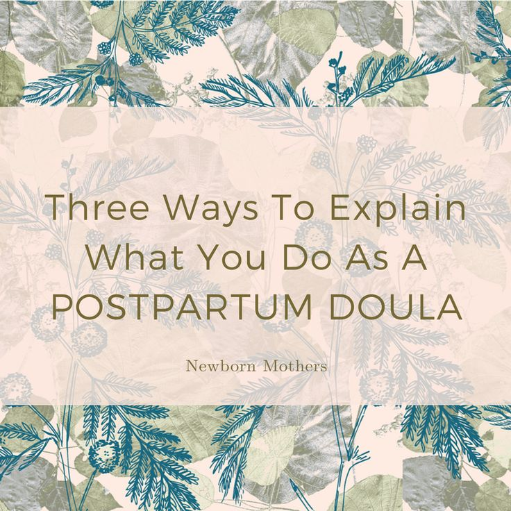 """True story: My very first #business #coach taught me a valuable #lesson which has stayed with me for many years. He said, """"People are looking for #solutions, not #Doulas."""" #postpartum"""