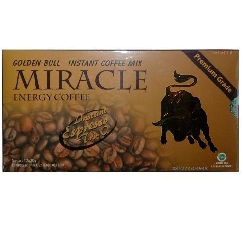 Miracle Coffee - Kopi Kesehatan Untuk Stamina dan Vitalitas Respon cepat SMS/WA 08995027427 IDR 420.000,- (Isi 12 sachet)  Miracle Energy Coffee FORMULA OF Thailand Didistribusikan Oleh : PT MDS INDONESIA  DI Berat Bersih : 240g ( 12 Sachet @ 20g )