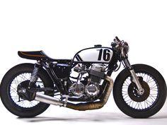 Honda CB500 cafe racer by MotoHangar