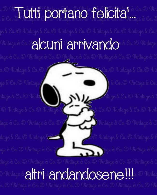 Snoopy, un  oceano di saggezza!