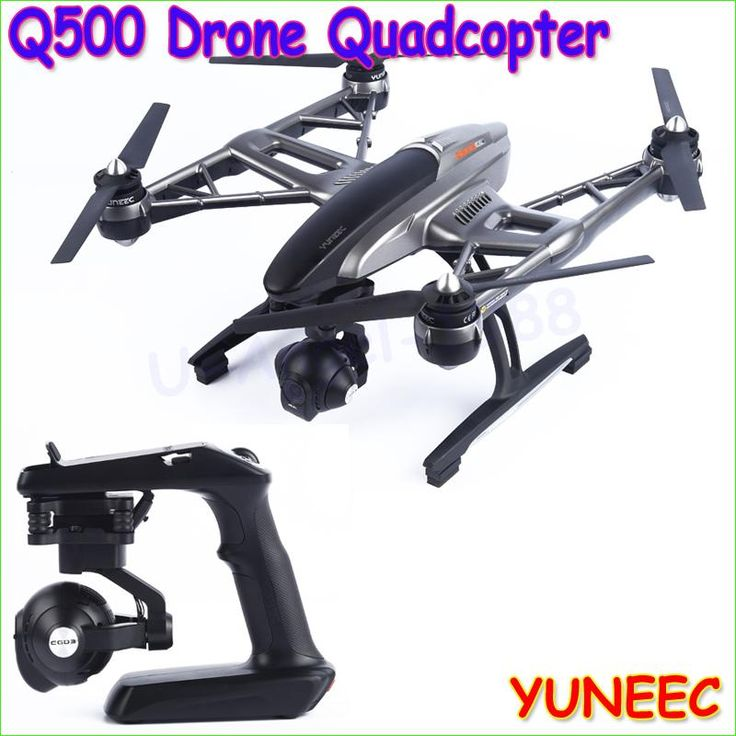 YUNEEC Q500 FPV 10 channel Quadcopter with 4K HD camera