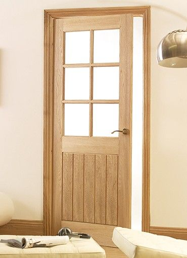 Mexicana Oak 6 Light Pre Glazed Internal Doors From Magnet Trade Are A Oak  Veneered Door Of Solid Quality And Strength.