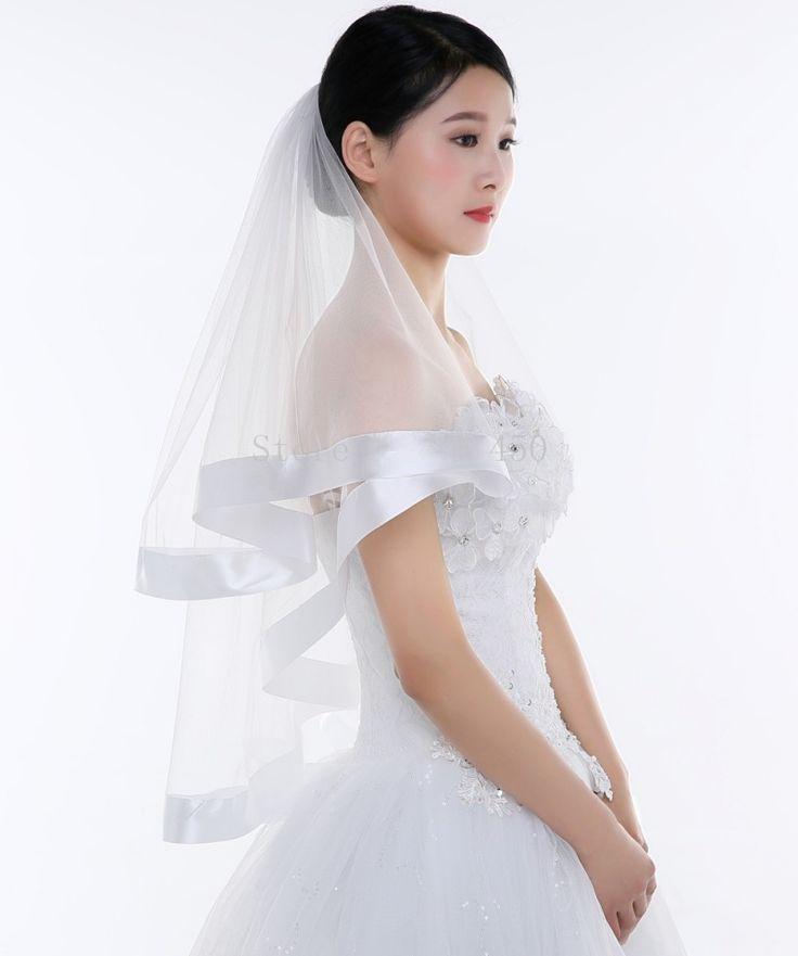 17 Best Ideas About Short Wedding Veils On Pinterest