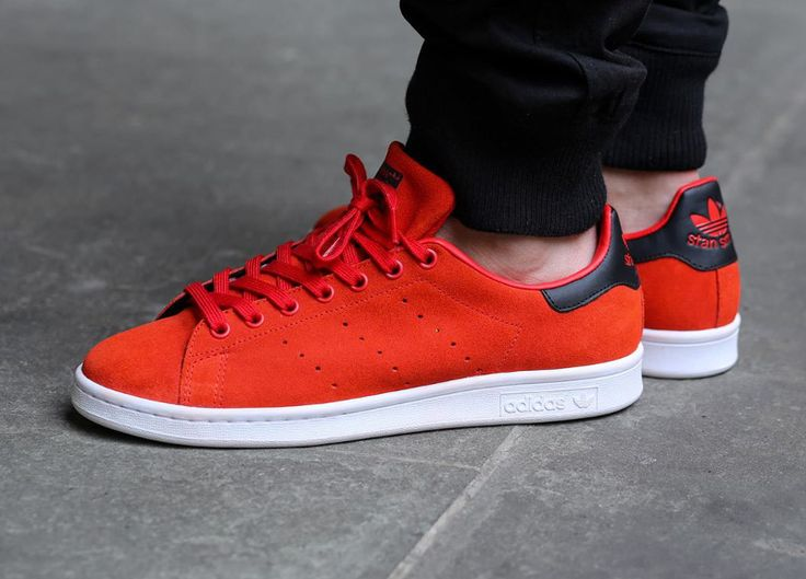 Adidas Stan Smith 'Red Core Black' (rouge) (4)