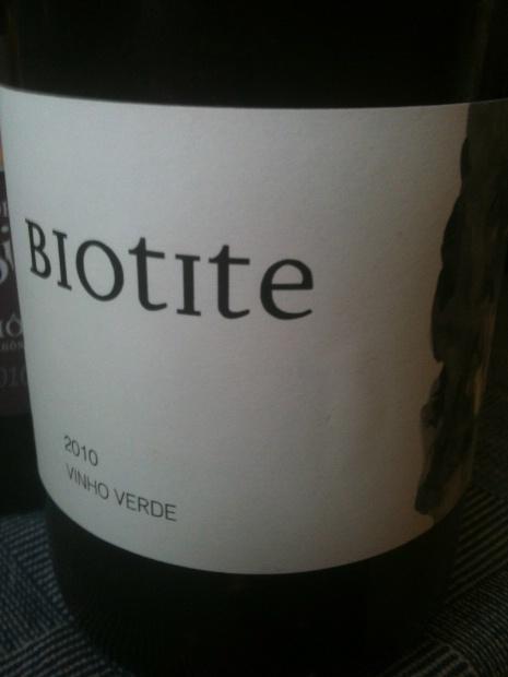 2010 Casa de Mouraz Vinho Verde Biotite