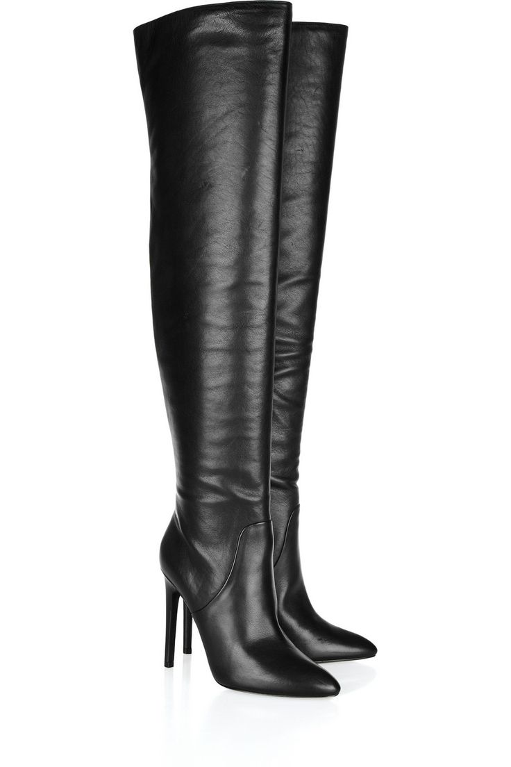 Alexander Wang | Nappa leather over-the-knee boots | NET-A-PORTER.COM