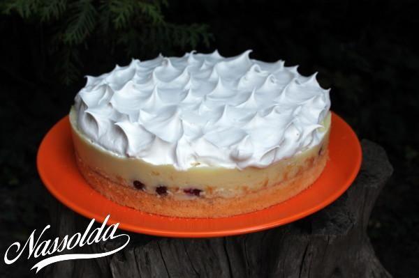 Meggyes vanília torta | Nassolda