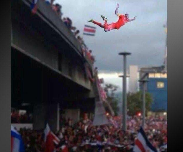 Los memes del juego entre Costa Rica y Holanda