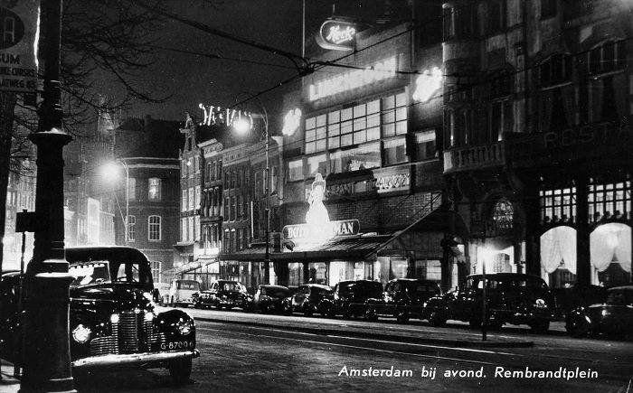 Rembrandtplein Amsterdam (jaartal: 1950 tot 1960) - Foto's SERC