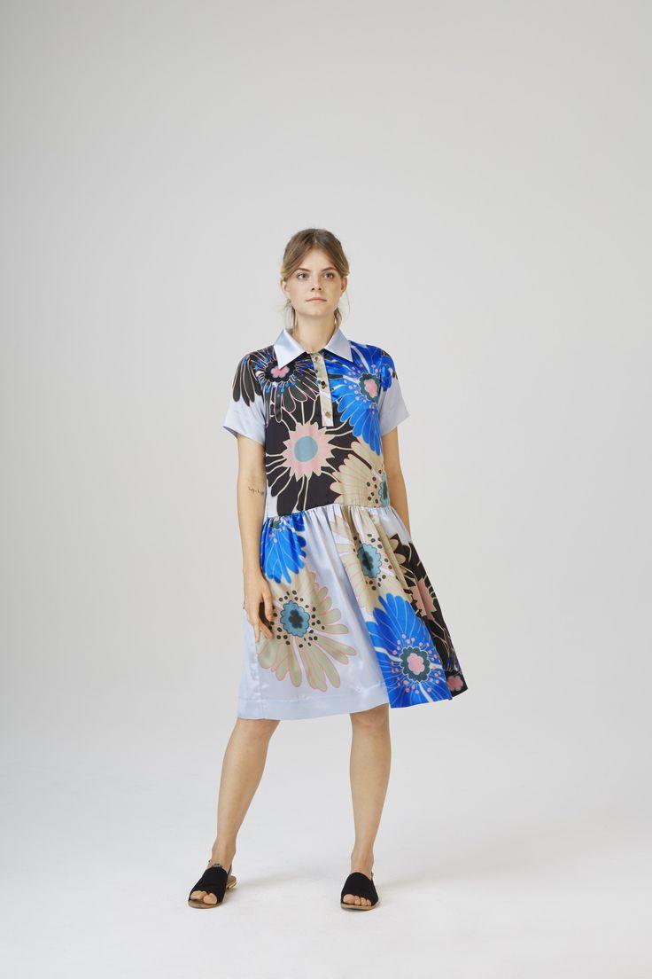 Fuzfo Dress Blue
