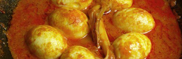 Sambal goreng telor | Kokkie Slomo - Indische recepten