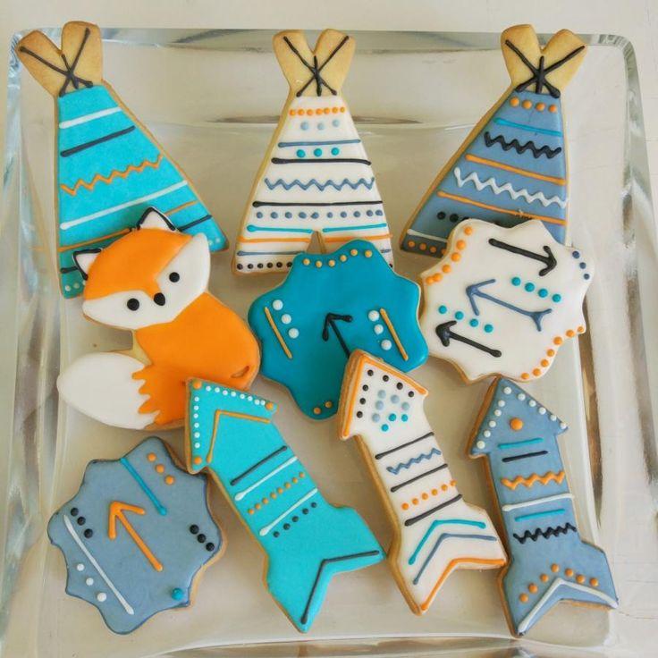 Tepee cookies - Cake by nef_cake_deco