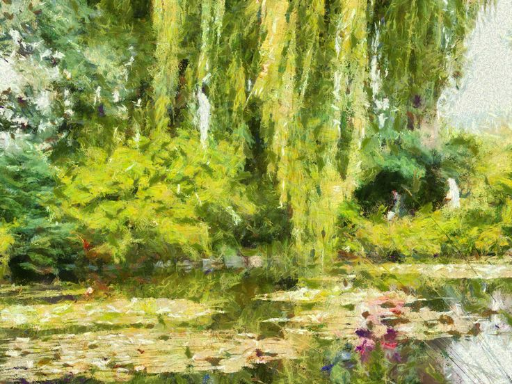 Photo painted In the style of Claude Monet with Dynamic Auto painter from Mediachance