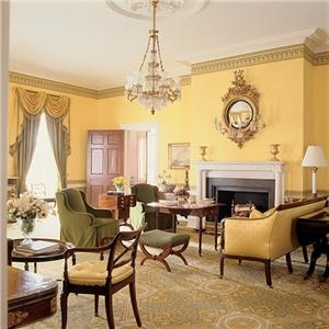 Traditional Victorian Colonial Living Room By Drake Design Associates