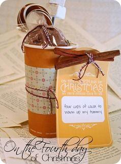 12 days of Christmas ideas and printable gift tags