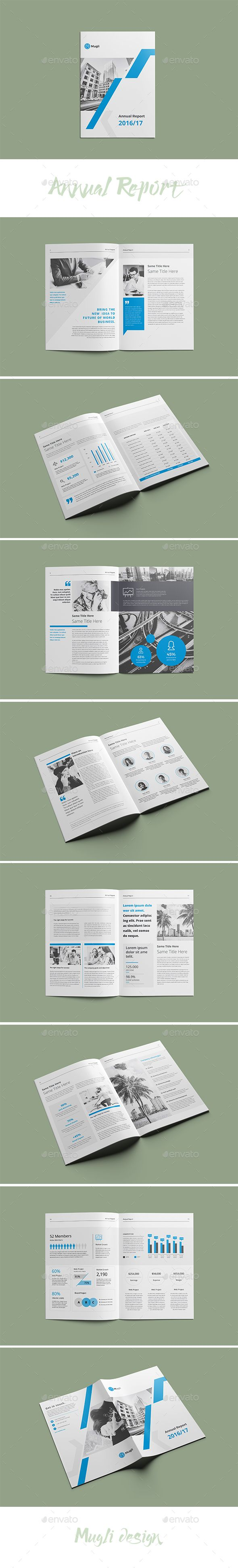 Annual Report - #Corporate #Brochures Download here: https://graphicriver.net/item/annual-report/19974379?ref=alena994