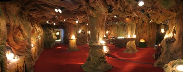 The Crystal Caves created in 1986 and enlarged several times with new displays & specimens added regularly.