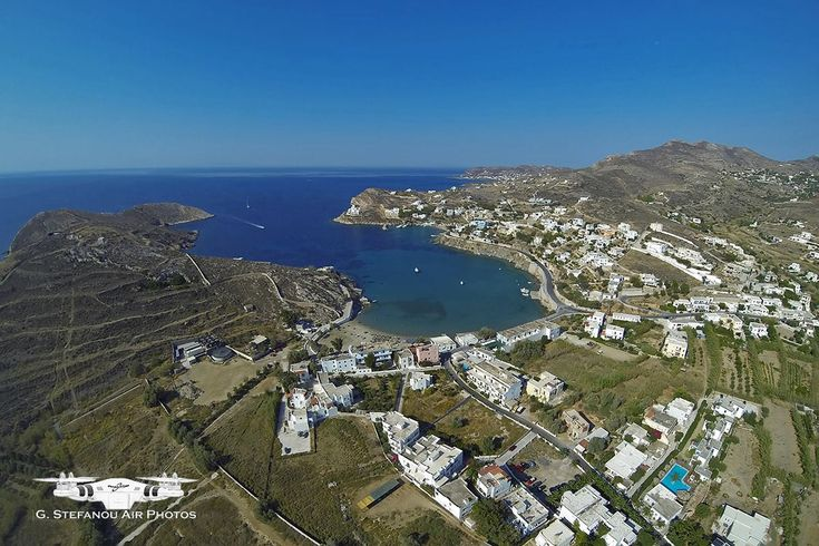 Vari - the oldest and one of the largest villages of Syros. The landscape of the village of Vari is dominated by a tower house owned by Goulandris family, while the many beaches in the area make it one of the most famous touristic destinations of the island. #Greece #Syros #Terrabook #GreekIslands #Travel #Aegean #GreeceTravel #GreecePhotografy #GreekPhotos #AegeanSea #Traveling #Travelling #Holiday #Summer