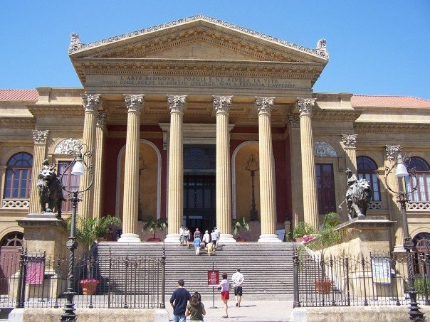 Palermo - Teatro - where the Godfather was shot