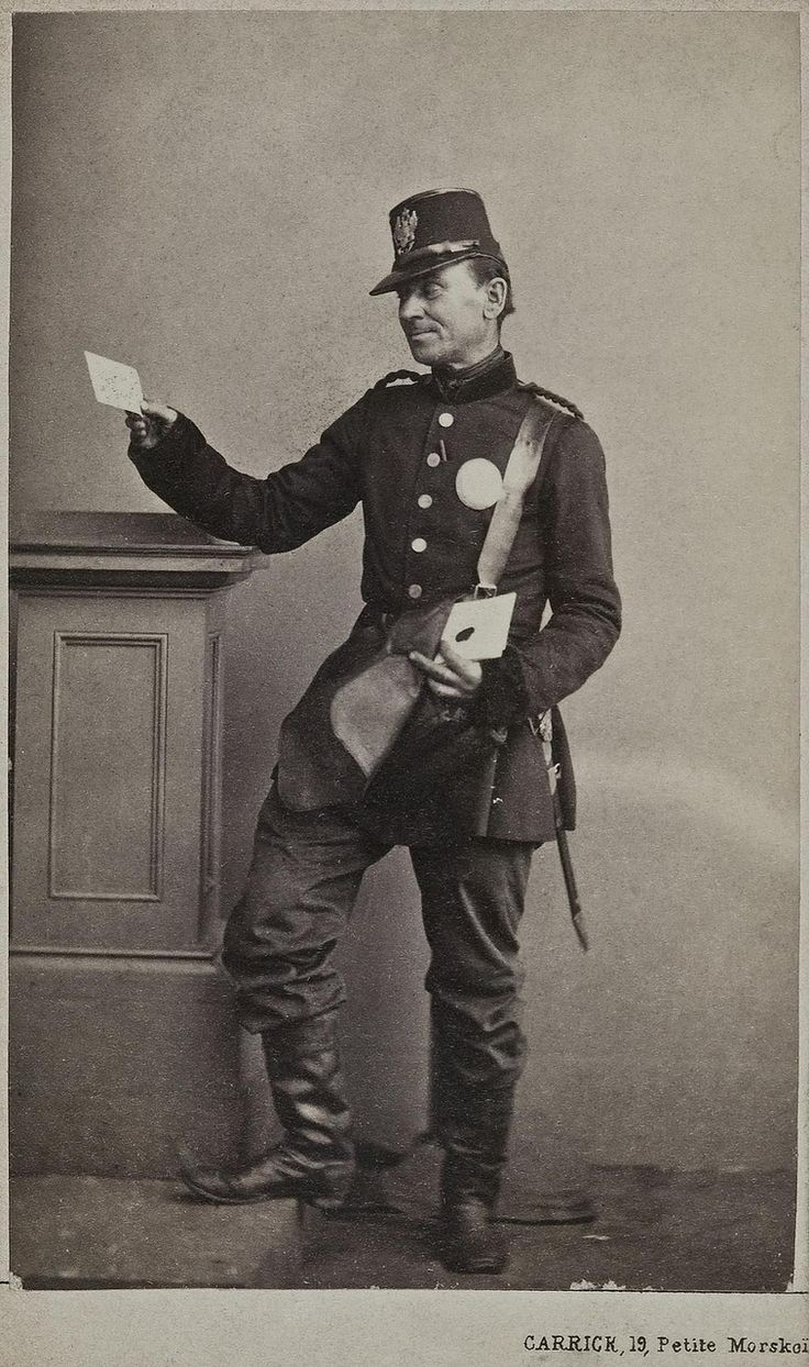 Postman by William Carrick, Russia, ca. 1858-72
