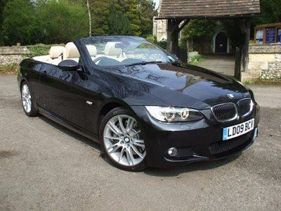 BMW 3 series convertible - yes please!