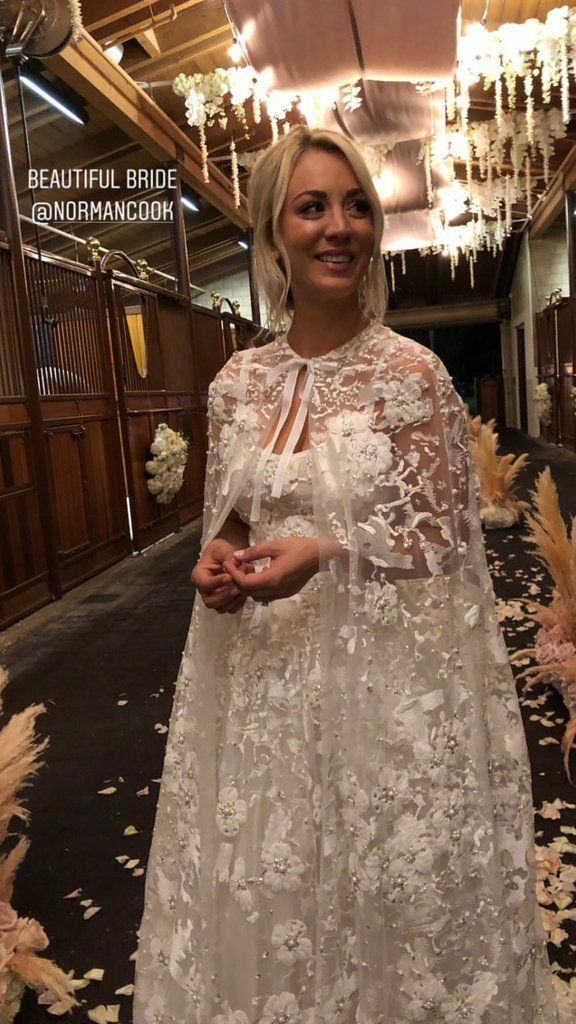 These Photos From Kaley Cuoco And Karl Cook S Wedding Will Make You Feel Like You Were There Celebrity Weddings Wedding Beautiful Bride