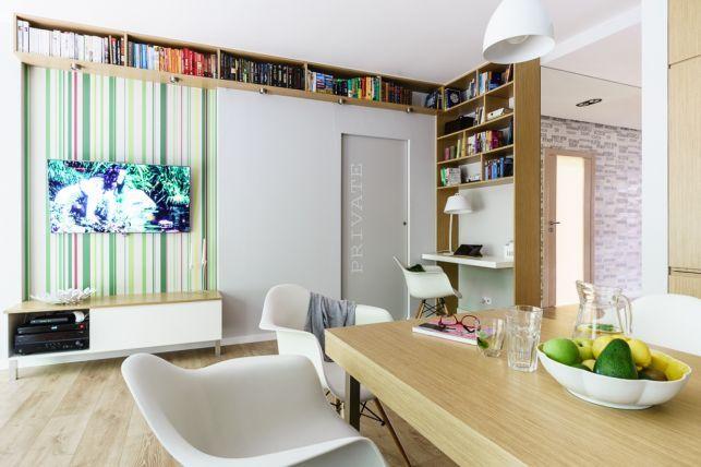 Decor inspirat de natura intr-un apartament de 3 camere - imaginea 3