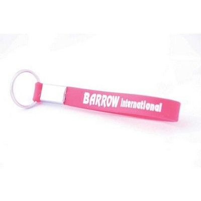 Printed Silicone Wrist Band Keyring Min 500 - Conference & Events - Custom Wristbands - OC-SIWB11 - Best Value Promotional items including Promotional Merchandise, Printed T shirts, Promotional Mugs, Promotional Clothing and Corporate Gifts from PROMOSXCHAGE - Melbourne, Sydney, Brisbane - Call 1800 PROMOS (776 667)