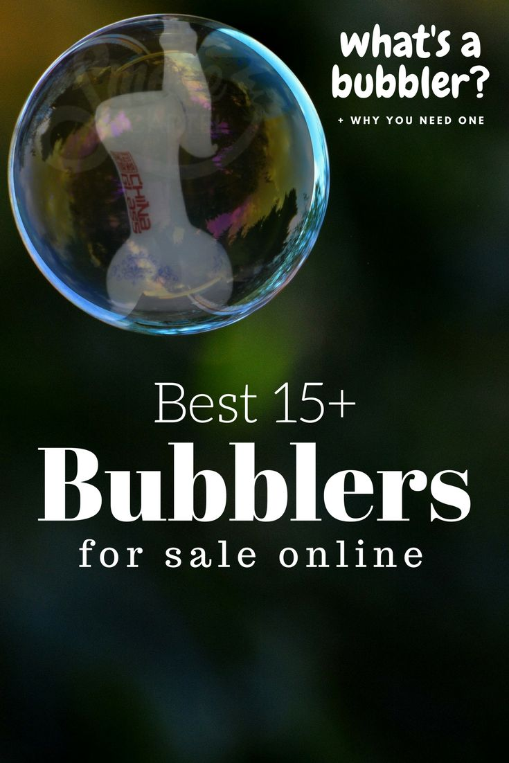 A bubbler is used to smoke cannabis. It can be used dry as a pipe or filled with water and used as a water pipe. Here are 15+ of the Best Bubblers for sale.