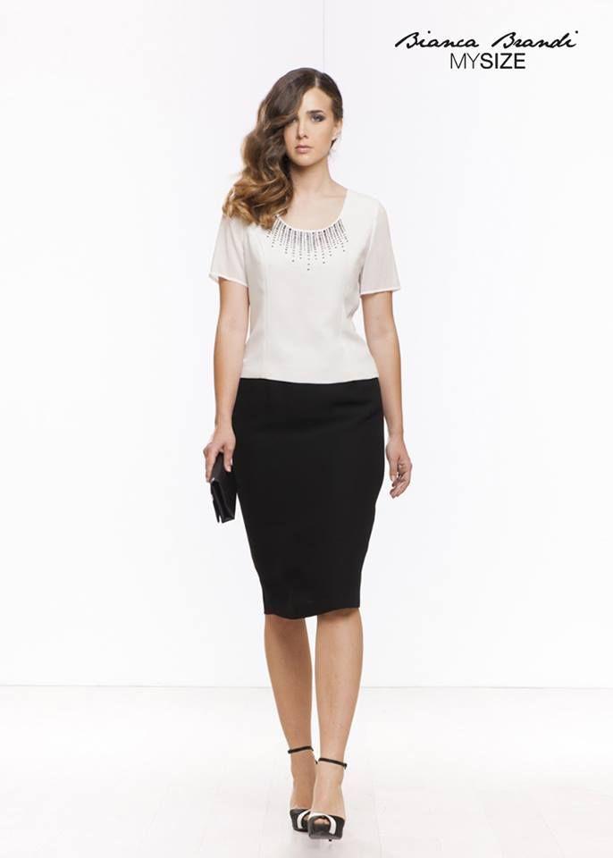 #Lunedì in #ufficio...ma con #stile! Buona settimana  #outfit #moda #fashion #trend #curvy #MySize #collection #curves