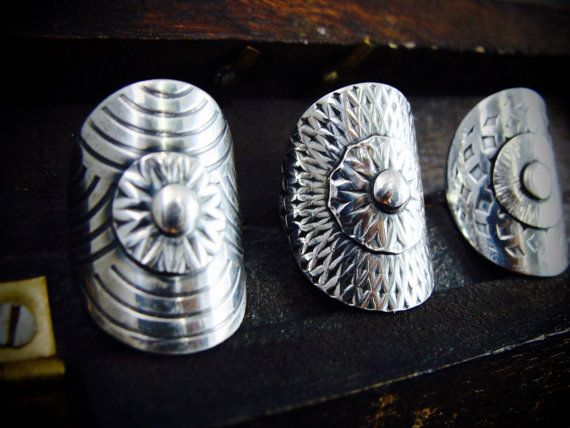 shield maiden ring by sirenjewels on Etsy