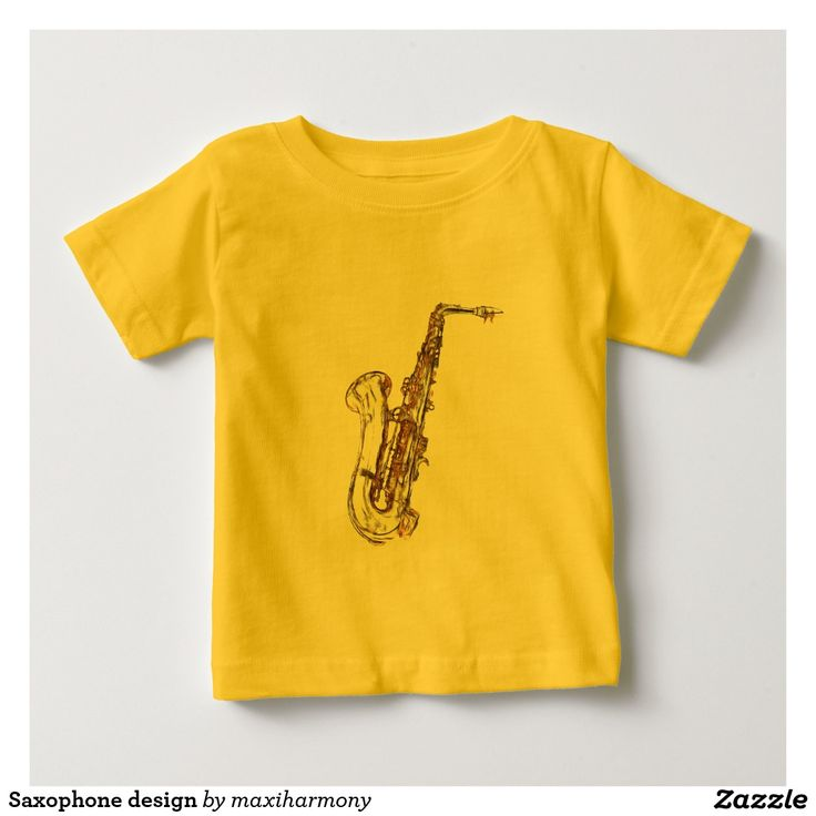 Saxophone design t-shirts