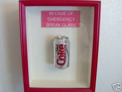emergencies would be the only time i choose the can. but when there's no fountain diet coke, a girl's gotta do what she's gotta do.