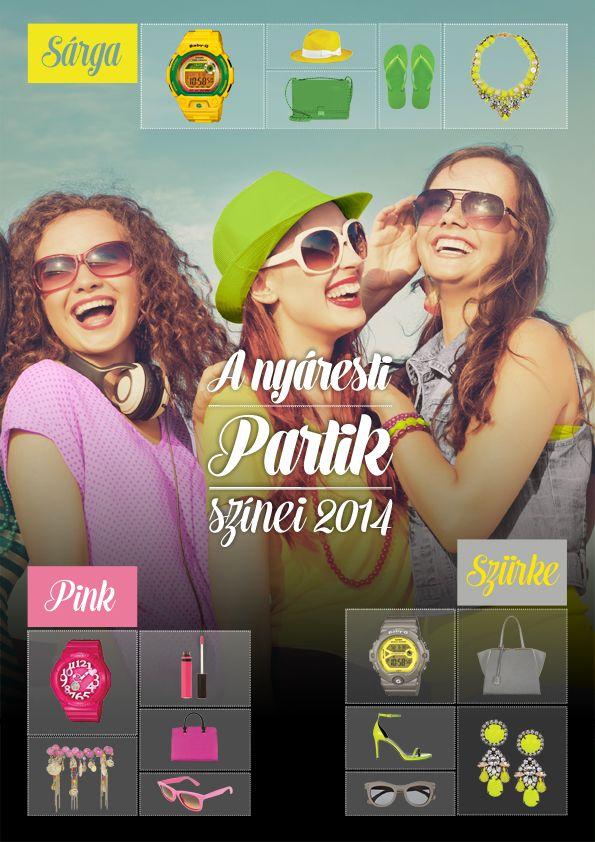 A nyáresti partik színei 2014