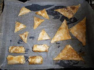 Οι συνταγές του Δίας!Dias recipes!: Μελωμένα Μπακλαβαδάκια Honey syroped Mini Baklava